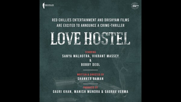 Shahrukh khan announces New Film Titled Love Hostel