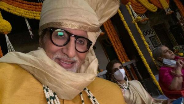ಮಗಳು-ಪತ್ನಿ ಜೊತೆ ಚಿತ್ರೀಕರಣದಲ್ಲಿ ತೊಡಗಿದ ಅಮಿತಾಬ್ ಬಚ್ಚನ್