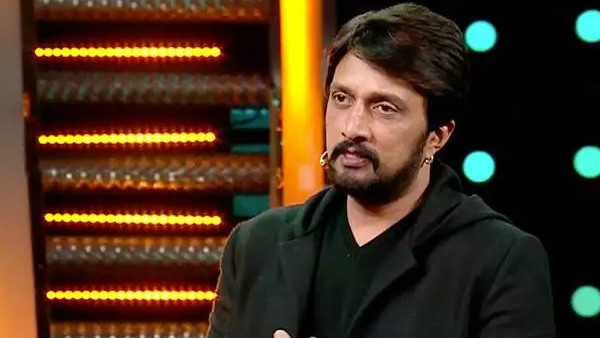 Sudeep Talks Kannada In Telugu Bigg Boss Show