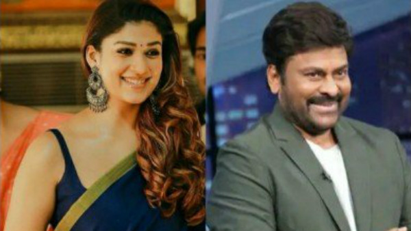 Nayanathara to Act With Chiranjeevi In Lucifer Remake