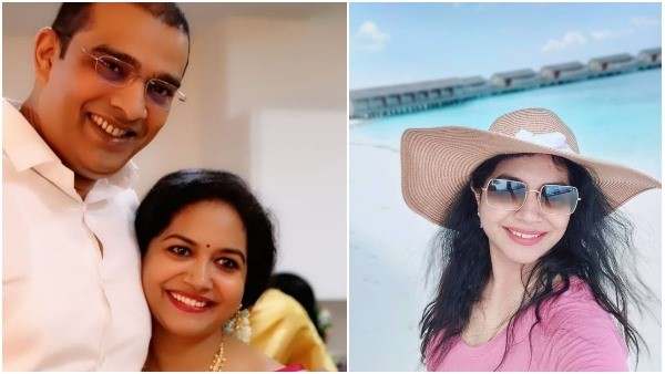 Singer Sunitha shares photo from her honeymoon with Ram
