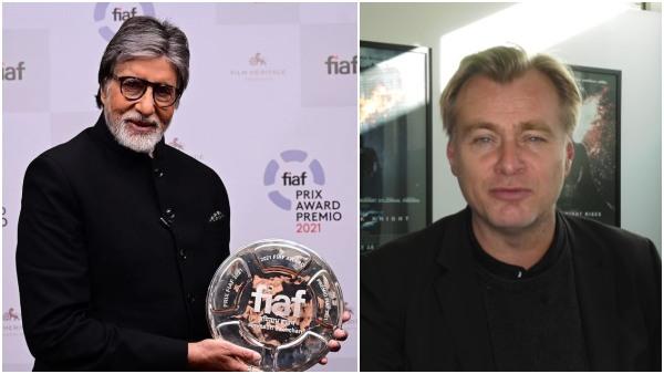 ಅಮಿತಾಬ್ ಗೆ FIAF ಪ್ರಶಸ್ತಿ: 'ಜೀವಂತ ದಂತಕಥೆ' ಎಂದು ಕರೆದ ಕ್ರಿಸ್ಟೋಫರ್ ನೋಲನ್