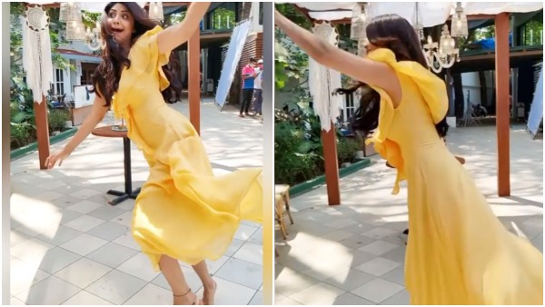 Shilpa Shetty falls while dancing video goes viral on social media