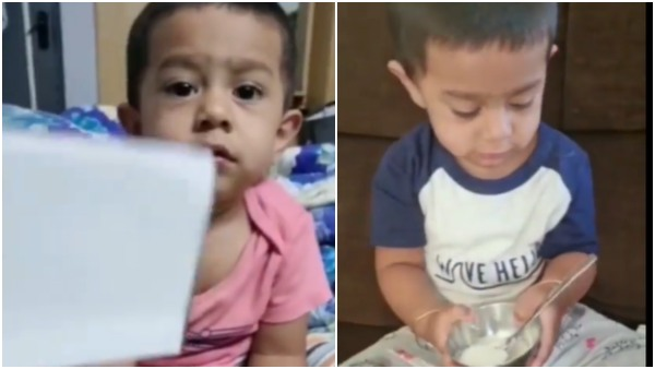 Radhika Pandit shares cute moments of son Yatharv talking; Watch Video
