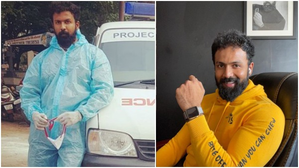 Kannada Actor Arjun Gowda turns Ambulance driver during Covid-19