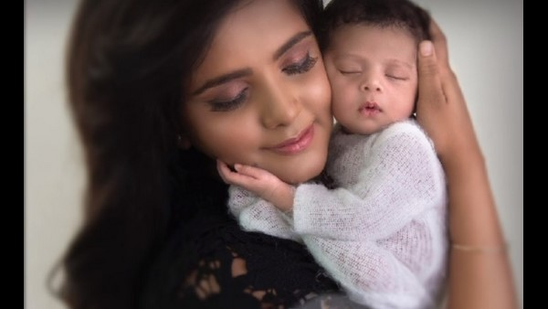 Actress Mayuri sharing a picture of her son: cute named couple - The Post Reader