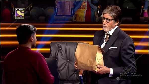 'KBC'ಯಲ್ಲಿ ಫುಡ್ ಡೆಲಿವರಿ ಬಾಯ್ ಆದ ಅಮಿತಾಬ್ ಬಚ್ಚನ್: ಬಿಗ್ ಬಿ ನಡೆಗೆ ಅಭಿಮಾನಿಗಳ ಮೆಚ್ಚುಗೆ