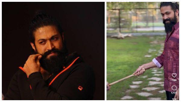 Video: ಸಿಂಹದ ಎದುರು ನಿಂತು ಸ್ಮೈಲ್ ಕೊಟ್ಟ 'ರಾಕಿ ಭಾಯ್' ಯಶ್