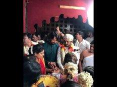 CCL ಆಟಗಾರ ರಾಜೀವ್ ಮದುವೆಯಲ್ಲಿ ಸುದೀಪ್ ದಂಪತಿ ಭಾಗಿ