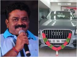 Hebbuli Krishna Bought New Audi Car