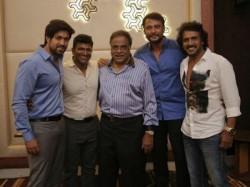 Puneeth Rajkumar Talk About Darshan Sudeep Yash