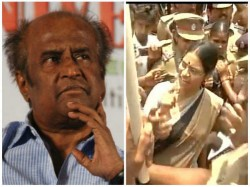 Protest Against Kannadiga Rajinikanth In Chennai