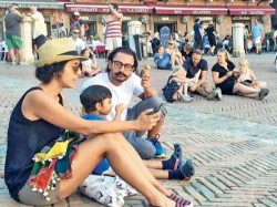 In Pics Aamir Khan Holidays In Rome Italy With His Family