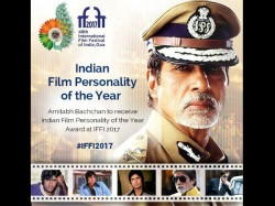 Amitabh Bachchan Receive Indian Film Personality Of The Year Award At Iffi 2017