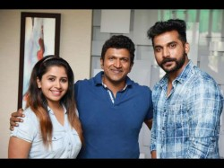 Power Star Puneeth Launches Second Song Uppu Huli Khara Film At His Residence