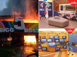 Take A Look At The Pictures Of Bigg Boss House Before Fire Accident