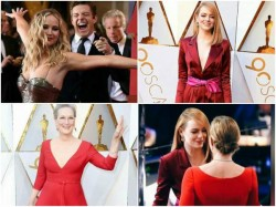 Oscars 2018 Red Carpet Pictures