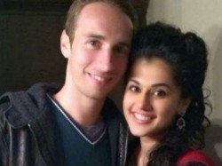 Taapsee Pannu Date With Boyfriend Mathias Boe