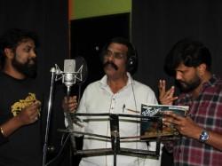 Producer Sadguna Murthy Sings For Kannada Film Adachanegagi Kshamisi