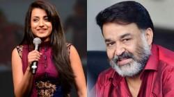 Trisha Krishnan Playing Female Lead In Mohan Lal Movie