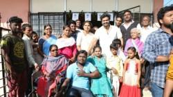 Manchu Manoj Visits An Orphanage In Tirupati On Sankranthi Festival