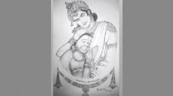 Brahmanandam S Sri Ram And Hanuman Sketch Got Viral