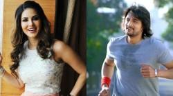 Actress Sunny Leone Will Shake A Leg With Sudeep In Kotiobba 3 Movie
