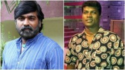 Vadivel Balaji Death Vijay Sethupathi Pays Last Respects And Lends Financial Help To His Family