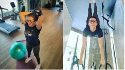 Milana Fame Actress Parvathy Thiruvothu Workout Photos Viral