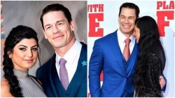 Wwe Star John Cena Marries Girlfriend Shay Shariatzadeh In A Private Ceremony In Florida