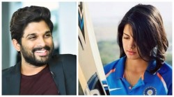 Allu Arjun Is Favorite Actor Of Indian Cricketer Priya Puniya