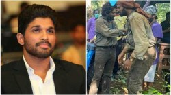 Allu Arjun Looks Rugged And Raw In A Leaked Photo From The Sets Of Pushpa