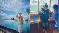Actress Samantha Akkineni All Set To Dive Into The Sea She Enjoying Her Maldives Vacation