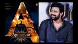 Prabhas Starrer Adipurush Movie Team To Do Homa