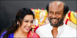 Super Star Rajinikanth Disappointed With Meena
