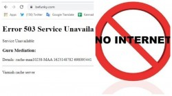Internet Outage Many Popular Websites Gone Down