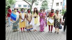 Pranitha Subhash Held A Free Vaccination Drive In Bengaluru