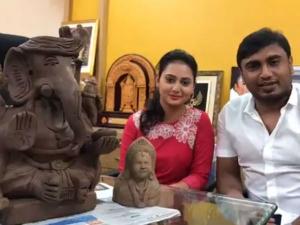 ಅಮೂಲ್ಯಗೆ ಉಡುಗೊರೆಯಾಗಿ ಬಂತು 'ರೈತ ಗಣೇಶ'