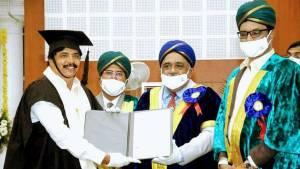 ಮೈಸೂರು ವಿವಿಯಿಂದ ಡಾಕ್ಟರೇಟ್ ಪಡೆದ 'ಅಯೋಗ್ಯ' ನಿರ್ಮಾಪಕ ಚಂದ್ರಶೇಖರ್