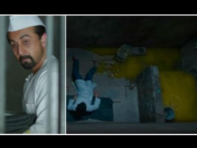 ವಿವಾದಕ್ಕೆ ಕಾರಣವಾಯ್ತು 'ಸಂಜು' ಚಿತ್ರದಲ್ಲಿನ ಟಾಯ್ಲೆಟ್ ಸೀನ್.!